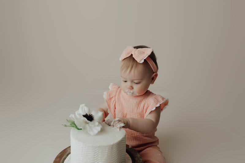 sweet one year old photographer