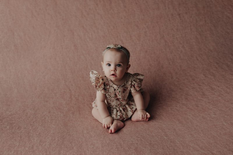 Sweet baby in pink